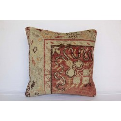 Turkish Rug Pillow Cover - H3492