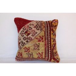 Turkish Rug Pillow Cover - H3497